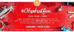 #Ohwhatfun LEARN MORE + ENTER TO WIN