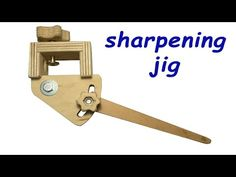 Homemade lathe tool sharpening jig, Plans: https://www.dropbox.com/s/fki47vwcusgdgq4/Sharpening%20jig%20plans%20for%20woodturning%20tools.pdf?dl=0