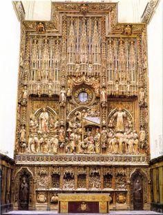 Pere Joan, Retablo de la Catedral de Zaragoza (1434-1440). - Escultura gótica de la Corona de Aragón S.XIV-XV.