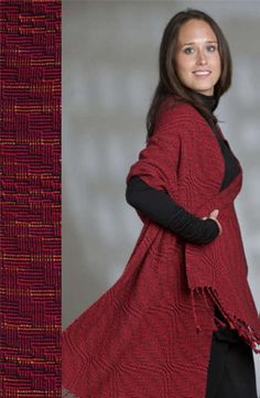 """I think that this just might be my first """"real"""" project on my new-to-me loom."""