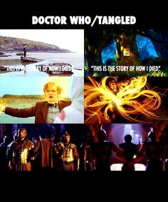 doctor who meet tangled