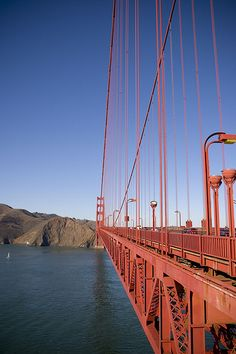 golden gate bridge: most beautiful commute