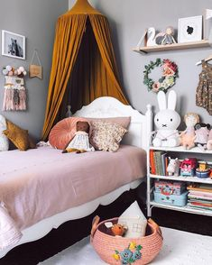 Fun Kids Room and Nursery Ideas for Kids and Children Room Decor Inspo and Ideas Lovelane Designs--Pretend Play and Imaginative Playwear Shop NOW Girls Bedroom, Bedroom Decor, Bedroom Ideas, Room Girls, Bedroom Layouts, Decor Room, Nursery Decor, Deco Kids, Kid Spaces