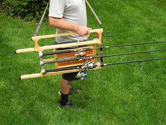 mh4 designs fishing pole carrier Shoulder strap | Flickr - Photo Sharing!