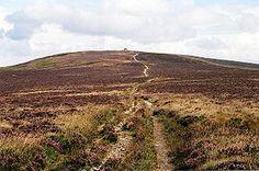 Dunkery Beacon - highest point on exmoor - beautiful