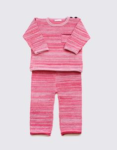 Alpaca set in red and pink by Wild Wawa Red And Pink, Rompers, Pants, Clothes, Dresses, Women, Fashion, Trouser Pants, Outfits