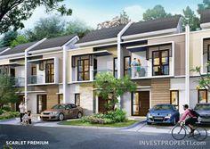 Rumah Burgundy Residence Summarecon Bekasi Tipe Scarlet Premium.
