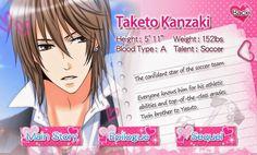 Taketo Kanzaki | Voltage Inc Wiki | Fandom powered by Wikia