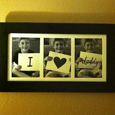 So sweet. But I would have to add one more..so maybe We <3 You Daddy! :) So cute!
