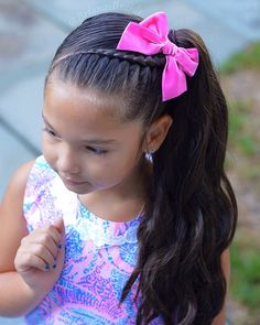 Girl hairstyles 641059328195000806 - Source by adorebmc Girls Hairdos, Cute Little Girl Hairstyles, Baby Girl Hairstyles, Kids Braided Hairstyles, Pretty Hairstyles, Toddler Hairstyles, Natural Hairstyles, Toddler Hair Dos, Hair Looks