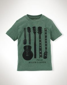 Cotton Graphic Tee - Boys 2-7 Tees and Sweatshirts - RalphLauren.com