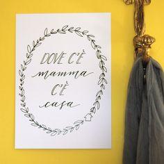 « Mamma »: il poster per le mamme che hanno tutto (ma che non rifiutano mai una dose di affetto supplementare) | Idea regalo per la festa della mamma