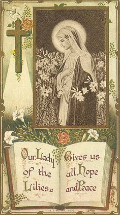 Holy Card, no date