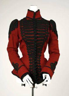 1899, Europe Wool jacket MET Museum