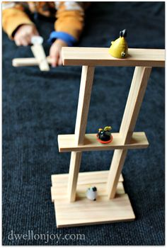 Dwell on Joy: {Make-Your-Own} Angry Birds Catapult!