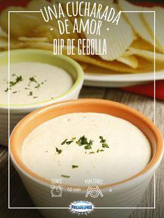 Comparte momentos de sabor con tus amigos y el toque de Philadelphia: Dip de cebolla.