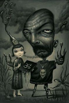 BetweenMirrors.com | Alt Art Gallery: Mark Ryden - King of Pop Surrealism