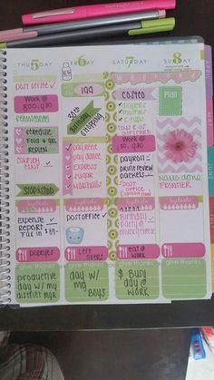 erin condren weeky planner pages