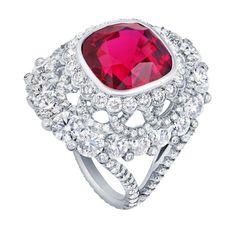 Fabergé Devotion spinel ring