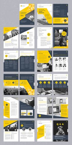 20 Modern Style Brochure Catalogue Template Design Ideas for Inspiration Company Brochure Design, Graphic Design Brochure, Brochure Design Inspiration, Web Design Company, Brochure Cover Design, Corporate Brochure Design, Modern Graphic Design, Business Brochure, Brochure Mockup