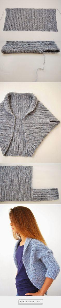 Same basic shrug, with added sleeves ~ The Shrug Blog