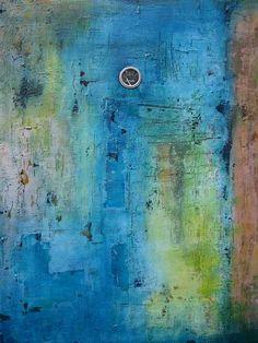 mixed media abstract | dave goldman North Carolina abstract mixed media artwork
