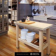Borneo Rainforest, Kitchen Cart, Wood Design, Hardwood, Tiles, Flooring, Room, Inspiration, Guide
