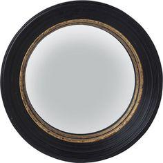 Mirror Convex Black Ø65cm - KARE Design