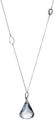 Swarovski Lunar Moonlight Crystal Pendant Necklace. This is really nice. #swarovski #jewelry #crystals