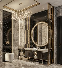 ELEGANCE on Behance Washroom Design, Toilet Design, Bathroom Design Luxury, Home Room Design, Dream Home Design, Home Interior Design, Dream Bathrooms, Bathroom Inspiration, Bathroom Ideas