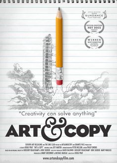 Watch Art & Copy online for free at HD quality, full-length movie. Watch Art & Copy movie online from The movie Art & Copy has got a rating, of total votes for watching this movie online. Watch this on LetMeWatchThis. Creative Poster Design, Creative Posters, Poster Designs, Creative Photos, Web Design, Design Art, Cover Design, Design Ideas, Design Digital