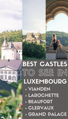 Best Castles to see in Luxembourg: fairytale châteaux, medieval residences and royal palaces to see in the Grand Duchy.