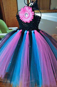 Custom tutu Dresses, You chose colors even can add Rhinestones for Sparkle