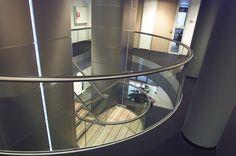 The Natural History Museum Paris Balustrades, Glass Balustrade, Museum Paris, Stainless Steel Staircase, Art Nouveau, Modern Stairs, Railing Design, Modern Glass, Natural History