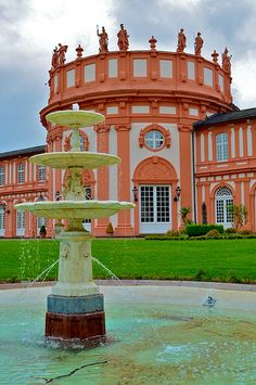Wiesbaden castle - Germany.