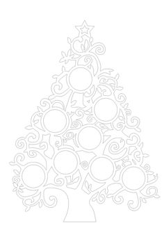 Christmas tree dxf files for Laser - Cnc machine Christmas Stencils, Christmas Wood Crafts, Christmas Templates, Christmas Colors, Christmas Tree, Etsy Christmas, Cnc Plasma, Routeur Cnc, Cnc Router
