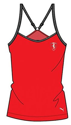 PUMA Womens Ferrari Tank Top Rosso Corsa XLarge ** Check out this great product.