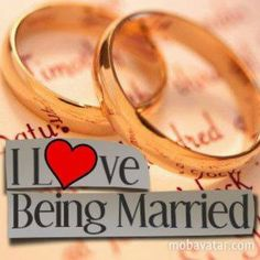 ♥ being married