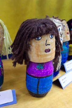 These bobble heads could be more sophisticated for ms or hs.