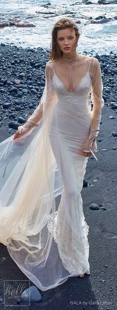 GALA by Galia Lahav Wedding Dress Collection No.5. The definition of gossamer.