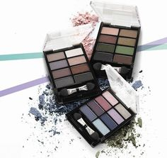Mini-Paleta de #SombrasdeOjos Pure Colour #Oriflame Fantástica paleta de sombras de ojos para crear todas las combinaciones que quieras en tu mirada. ¡Combínalas o úsalas por separado! 8 tonos en cada paleta. Aplicador incluído. 4.8  g.