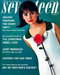 Seventeen Magazine / Cover with Colleen Corby / December 1964 Patti Hansen, Old Magazines, Vintage Magazines, Lauren Hutton, Holiday Fashion, Teen Fashion, Ladies Fashion, Fashion Models, Colleen Corby
