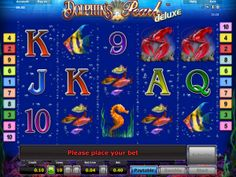 Dolphin's Pearl Deluxe slot by Novomatic 1 J, Thing 1, Casino Poker, Online Casino Bonus, Live Casino, Dolphins, Welcome, Indiana, Pearls