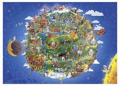 Пазл «Земля - вид из космоса» Heye