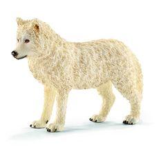 Amazon.de:Schleich 14742 - Arktischer Wolf, Tier Spielfigur