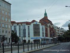 Debreceni Képeslapok: Amikor még a patika is Arany volt a Szent Anna-sarkon