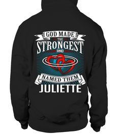 # JULIETTE GOD MADE THE STRONGEST BACK .  JULIETTE GOD MADE THE STRONGEST   A GIFT FOR A SPECIAL PERSON  It's a unique tshirt, with a special name!   HOW TO ORDER:  1. Select the style and color you want:  2. Click Reserve it now  3. Select size and quantity  4. Enter shipping and billing information  5. Done! Simple as that!  TIPS: Buy 2 or more to save shipping cost!   This is printable if you purchase only one piece. so dont worry, you will get yours.   Guaranteed safe and secure checkout…