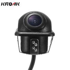 Mini CCD HD Night Vision 360 Degree Car Rear View Camera Front Camera Side Rear View Reversing Backup Camera #Affiliate