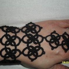 Bracelet noir claudia