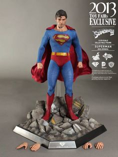 1/6th scale Superman (Evil Version) Collectible Figure from Superman III (Hot Toys)